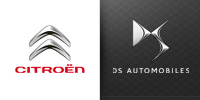 Citroen and DS Automobile logos